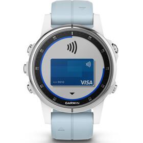 Garmin fenix 5S Plus Smartwatch white/seafoam